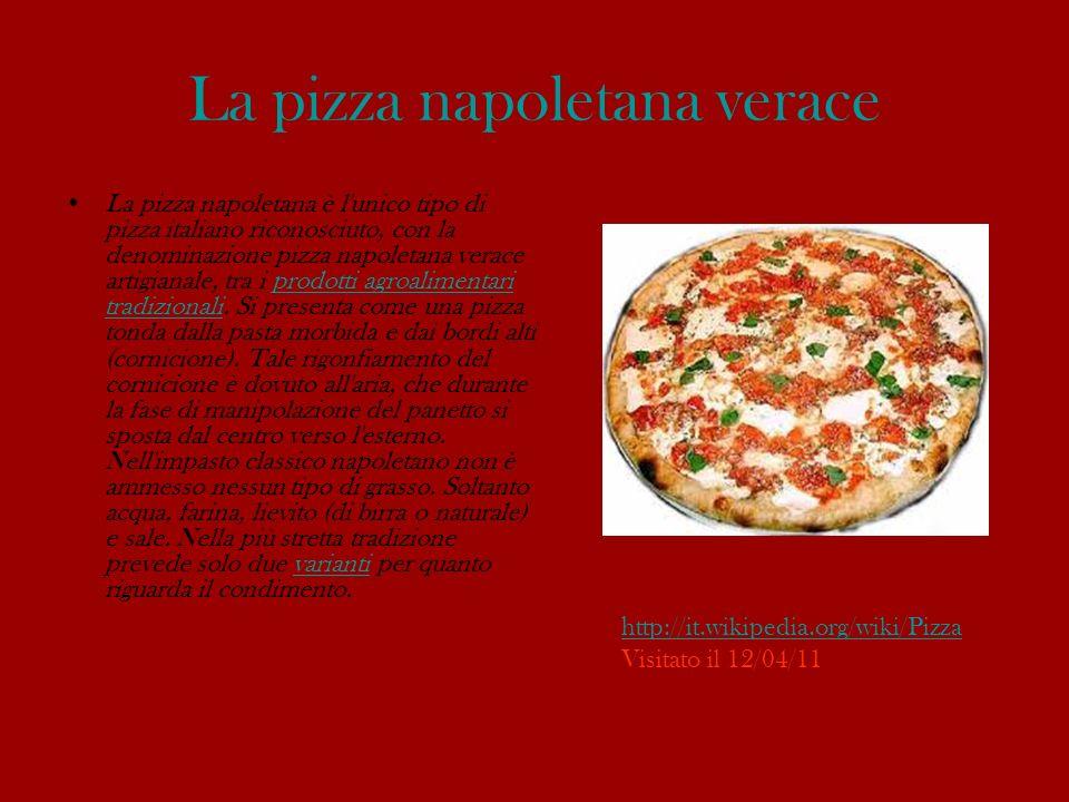 La pizza napoletana verace