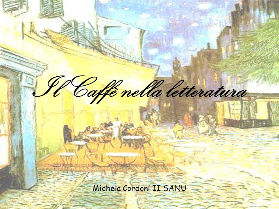 Il Caffè nella letteratura