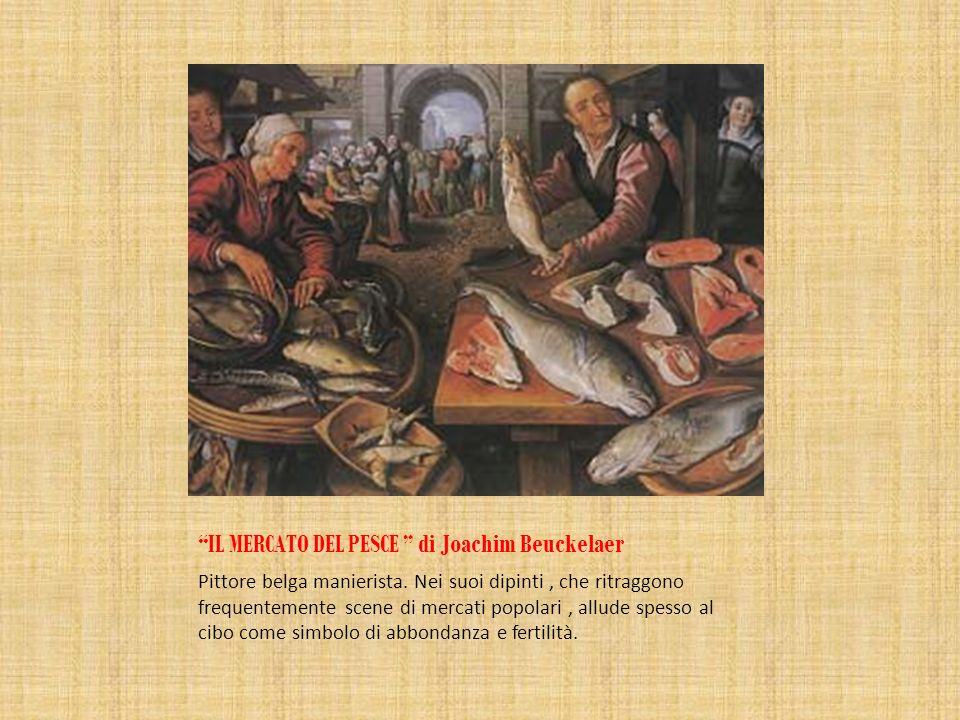 IL MERCATO DEL PESCE di Joachim Beuckelaer