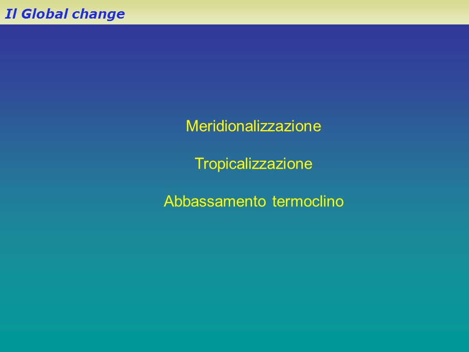 Abbassamento termoclino