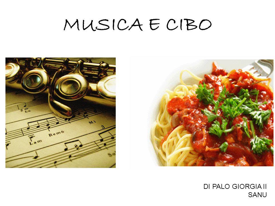 MUSICA E CIBO DI PALO GIORGIA II SANU