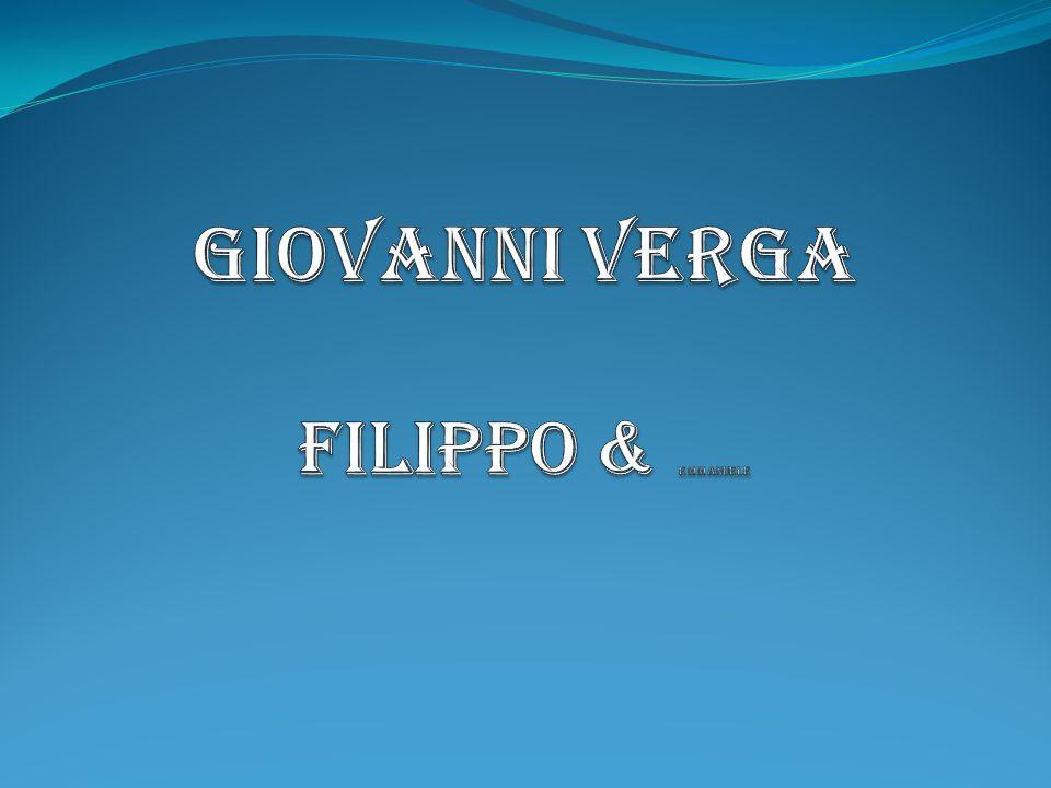 Giovanni Verga Filippo & Emmanuele