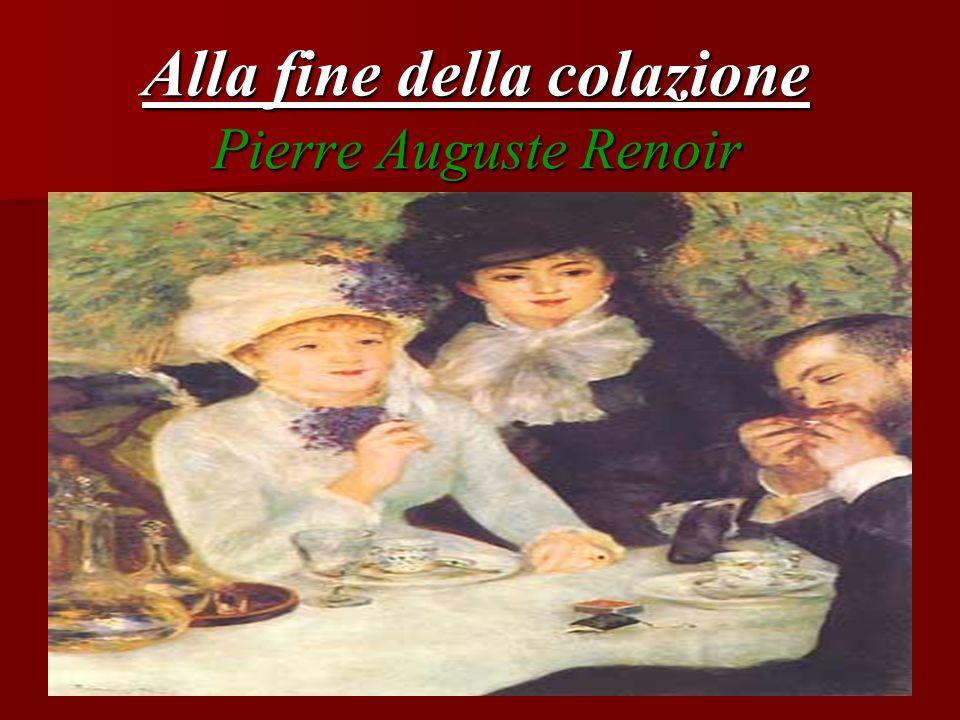 Alla fine della colazione Pierre Auguste Renoir