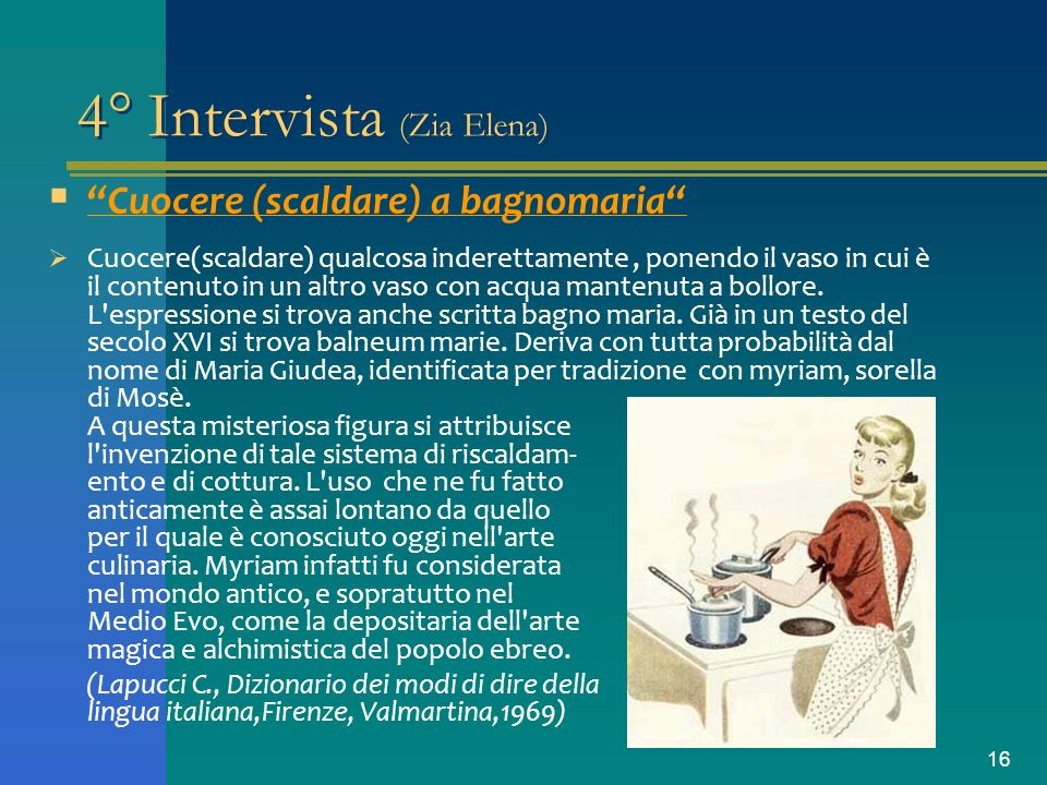 4° Intervista (Zia Elena)