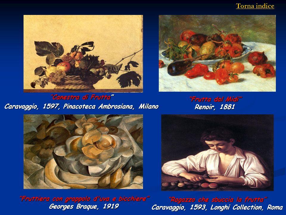 Torna indice Canestra di Frutta Frutta dal Midi