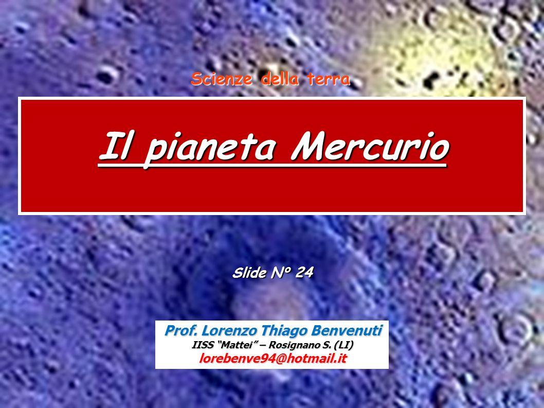 Scienze della terra Mercurio