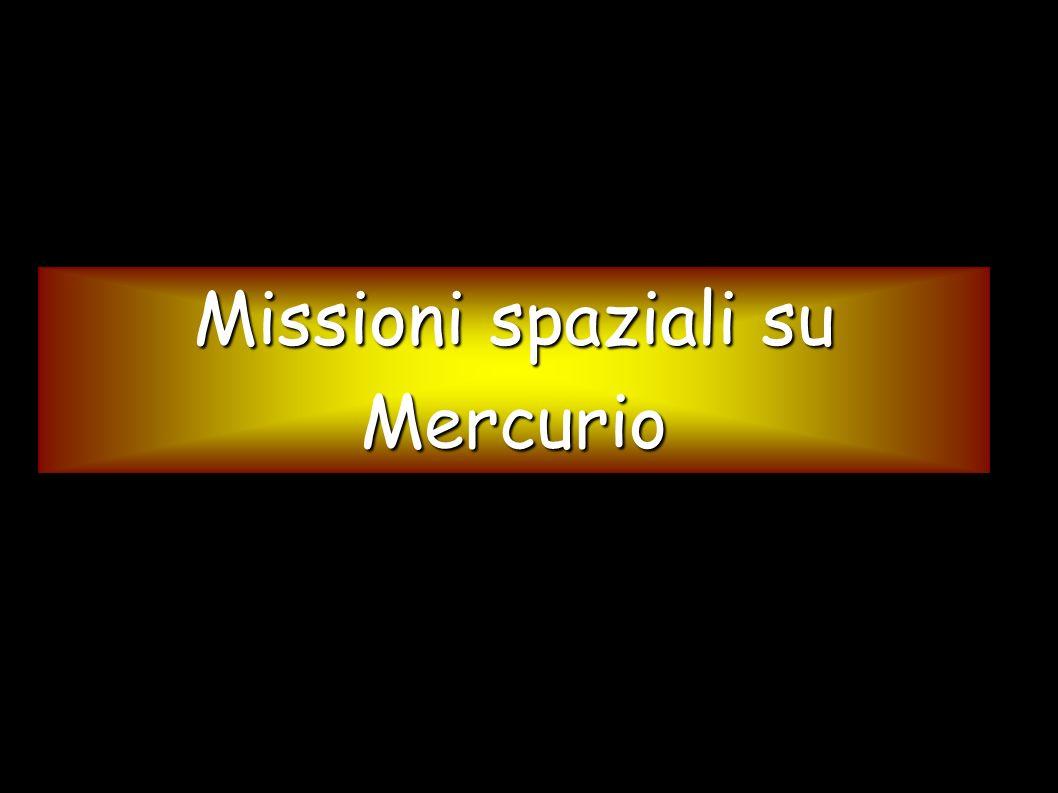 Missioni spaziali su Mercurio