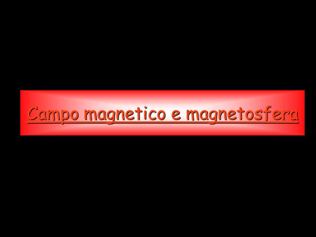 Campo magnetico e magnetosfera