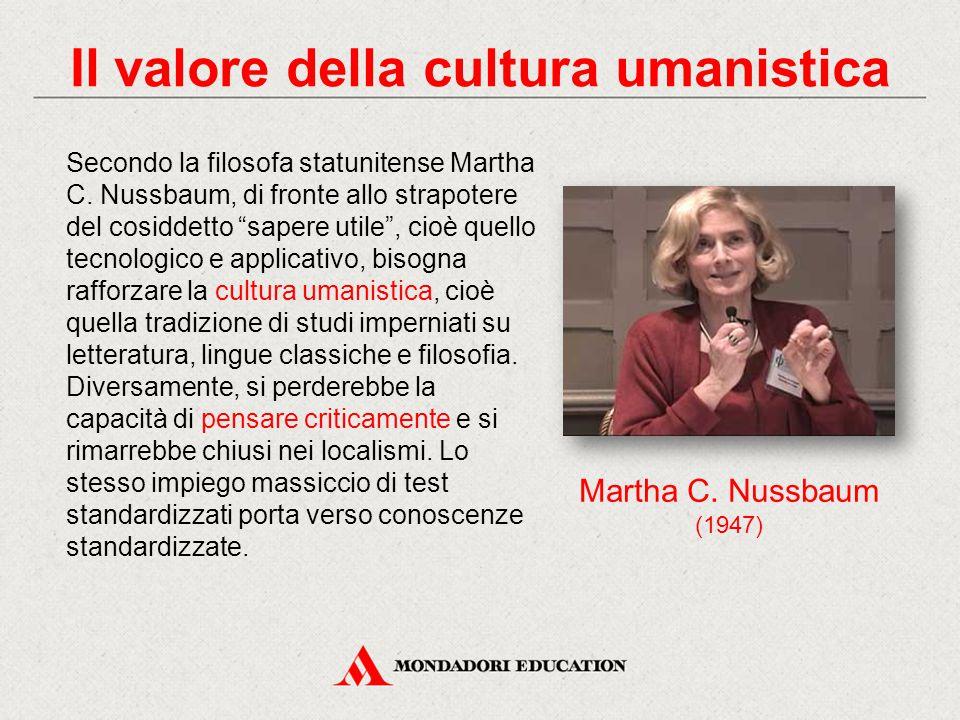 Il valore della cultura umanistica