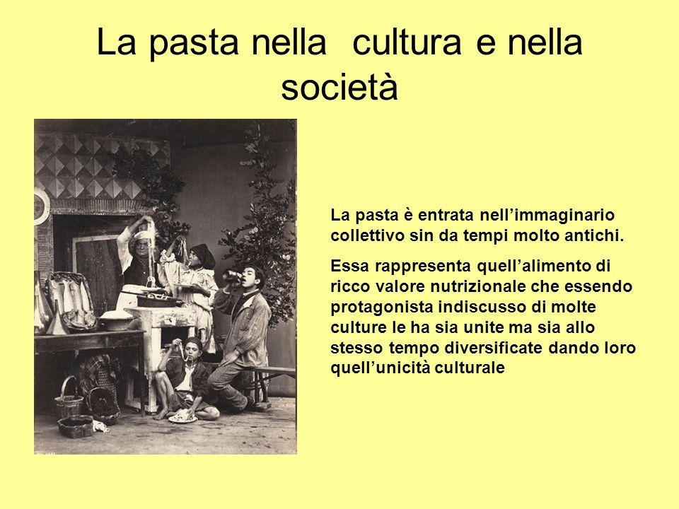 La pasta nella cultura e nella società