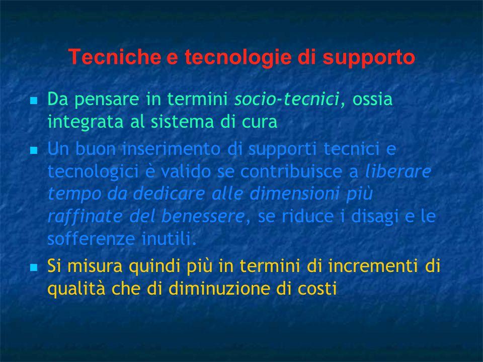 Tecniche e tecnologie di supporto