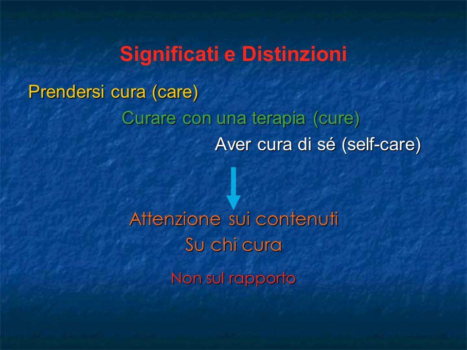 Significati e Distinzioni