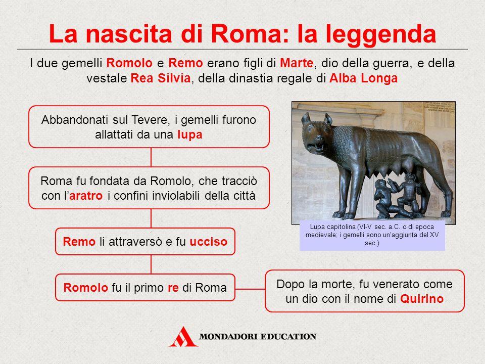 La nascita di Roma: la leggenda