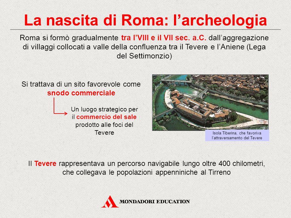 La nascita di Roma: l'archeologia