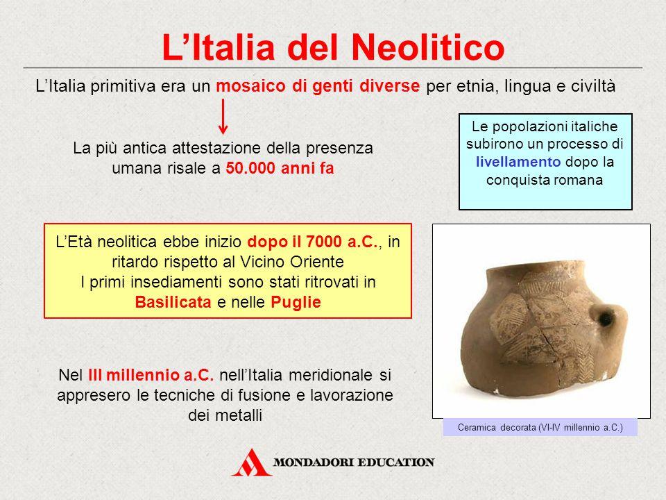 L'Italia del Neolitico