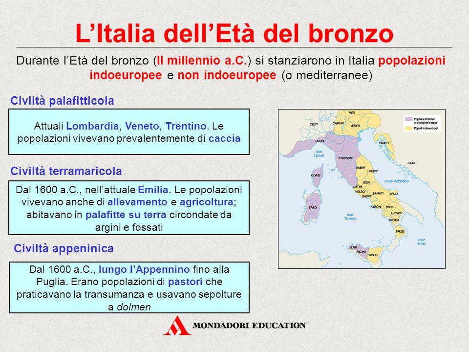 L'Italia dell'Età del bronzo