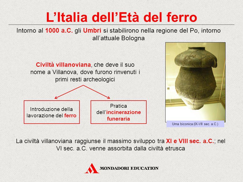 L'Italia dell'Età del ferro
