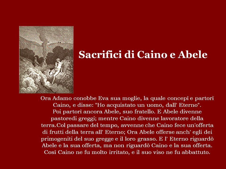 Sacrifici di Caino e Abele