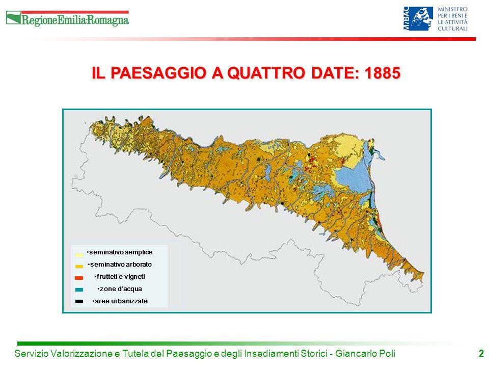 IL PAESAGGIO A QUATTRO DATE: 1885