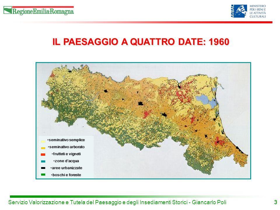 IL PAESAGGIO A QUATTRO DATE: 1960