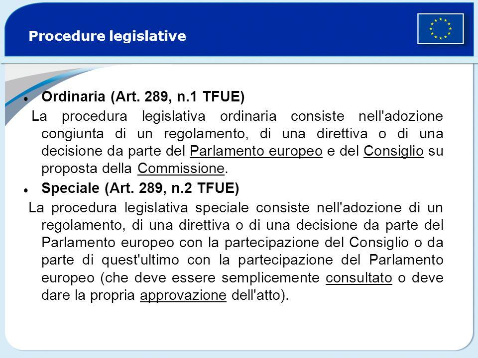 Procedure legislative