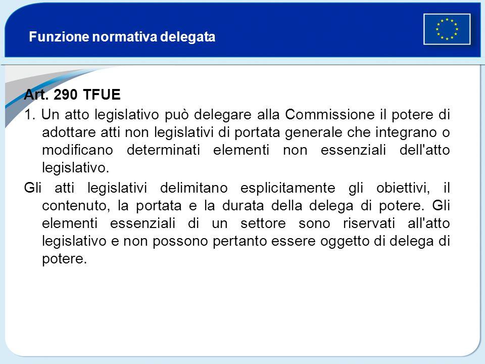 Funzione normativa delegata