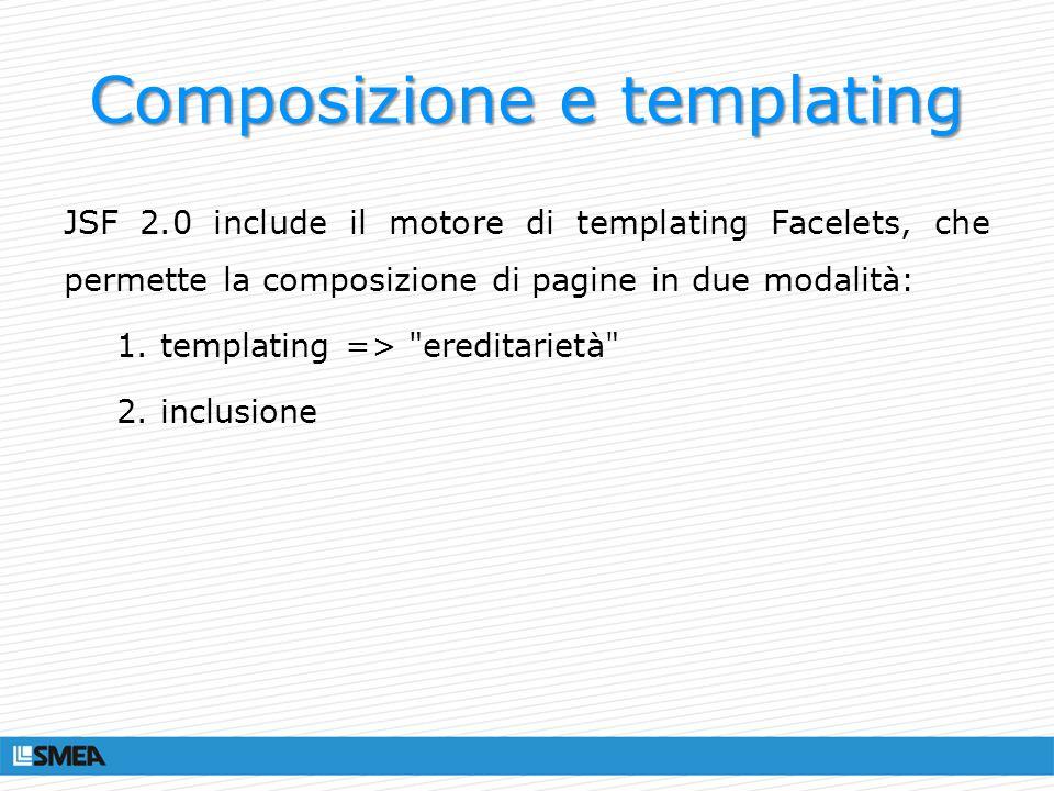 Composizione e templating