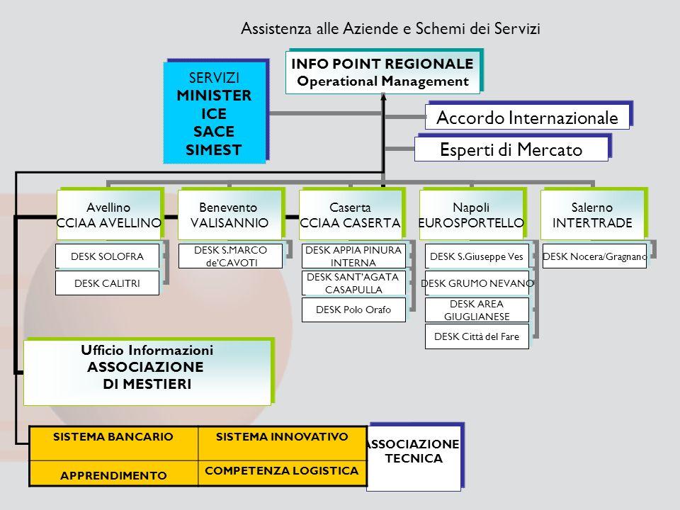Assistenza alle Aziende e Schemi dei Servizi