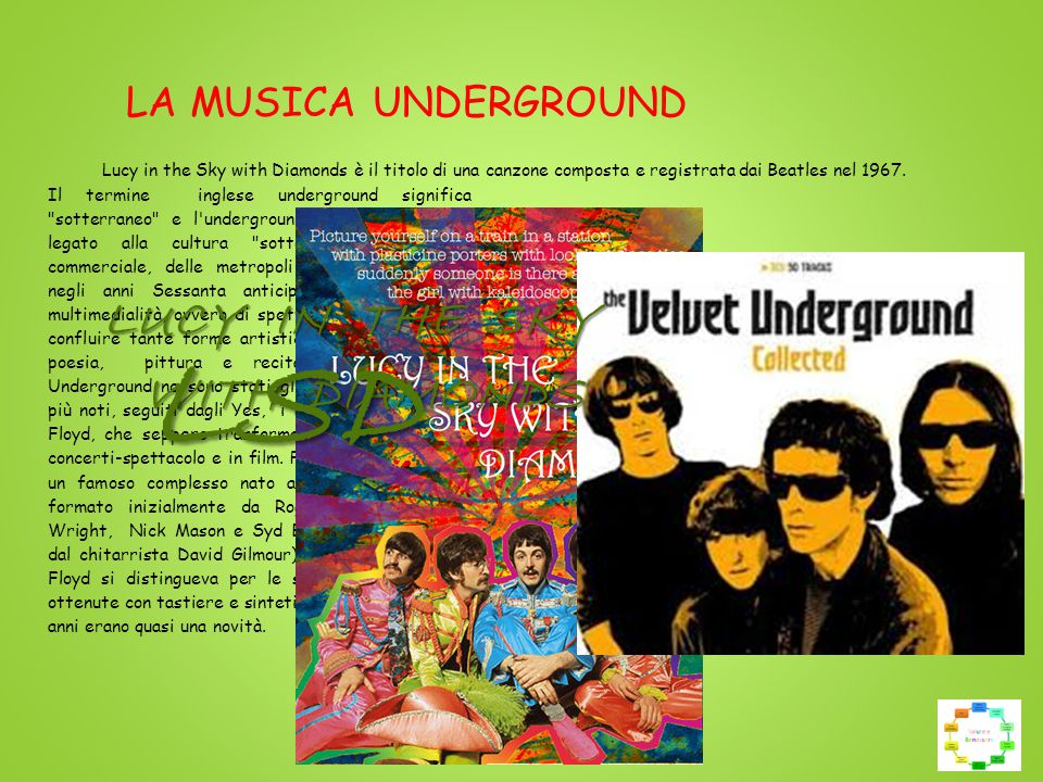 LSD LUCY IN THE SKY WITH DIAMONDS LA MUSICA UNDERGROUND
