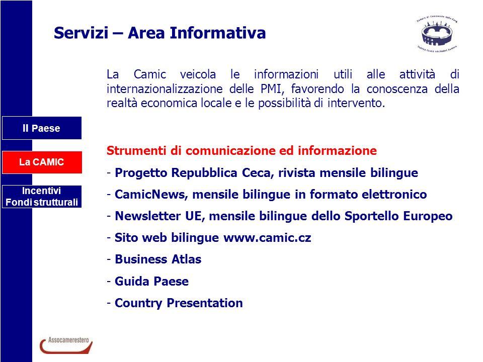 Servizi – Area Informativa
