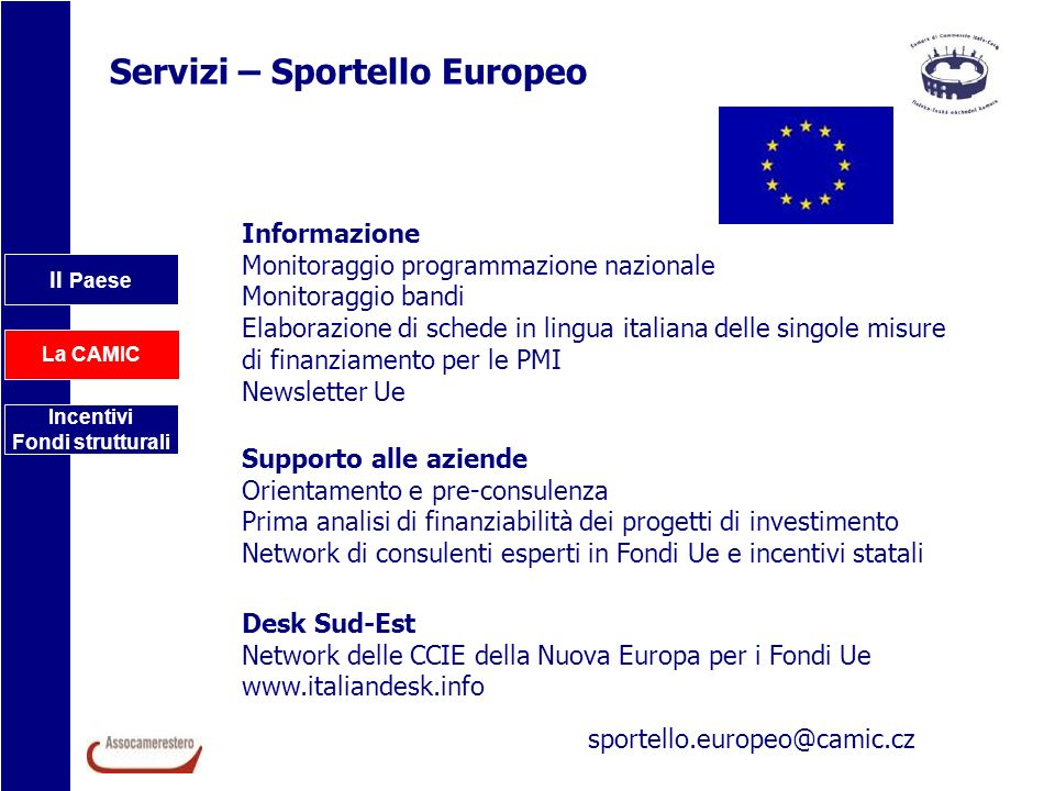 Servizi – Sportello Europeo