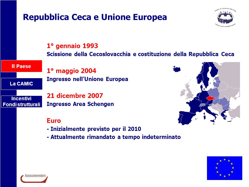 Repubblica Ceca e Unione Europea