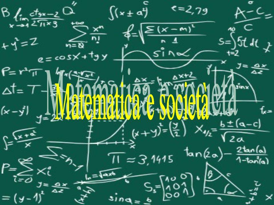 Matematica e società