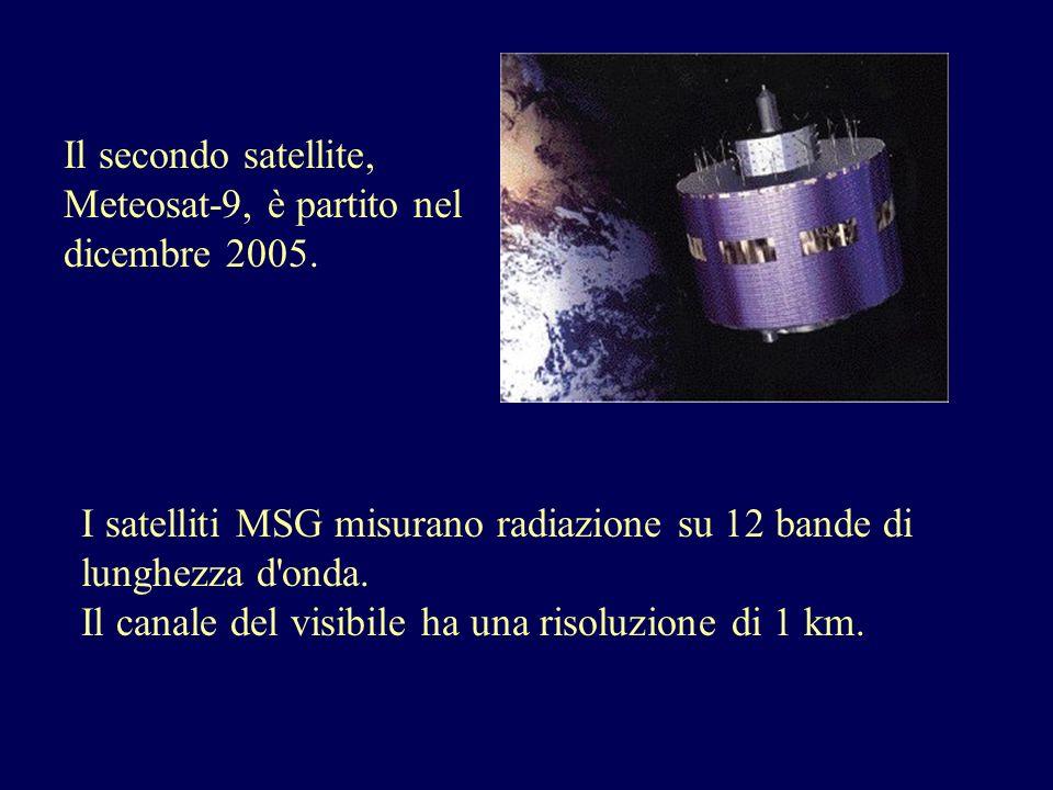 Il secondo satellite, Meteosat-9, è partito nel dicembre 2005.