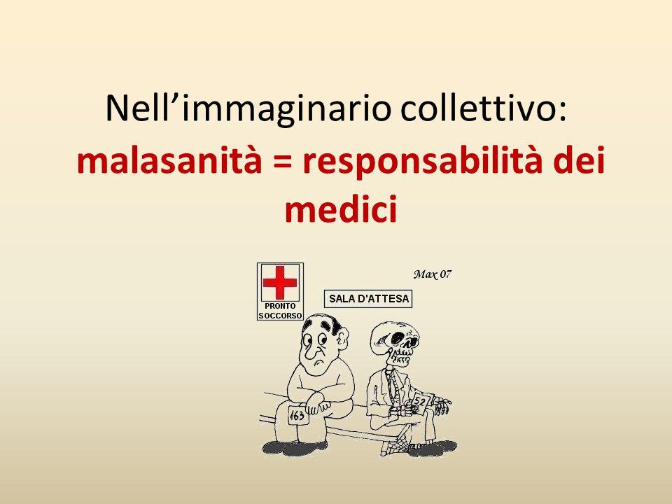 malasanità = responsabilità dei medici