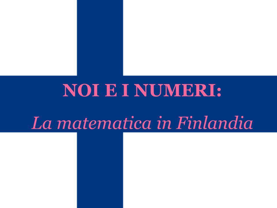La matematica in Finlandia