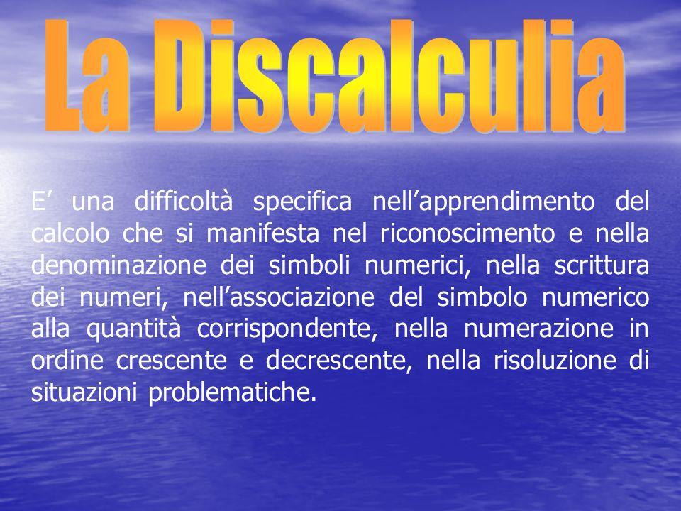 La Discalculia