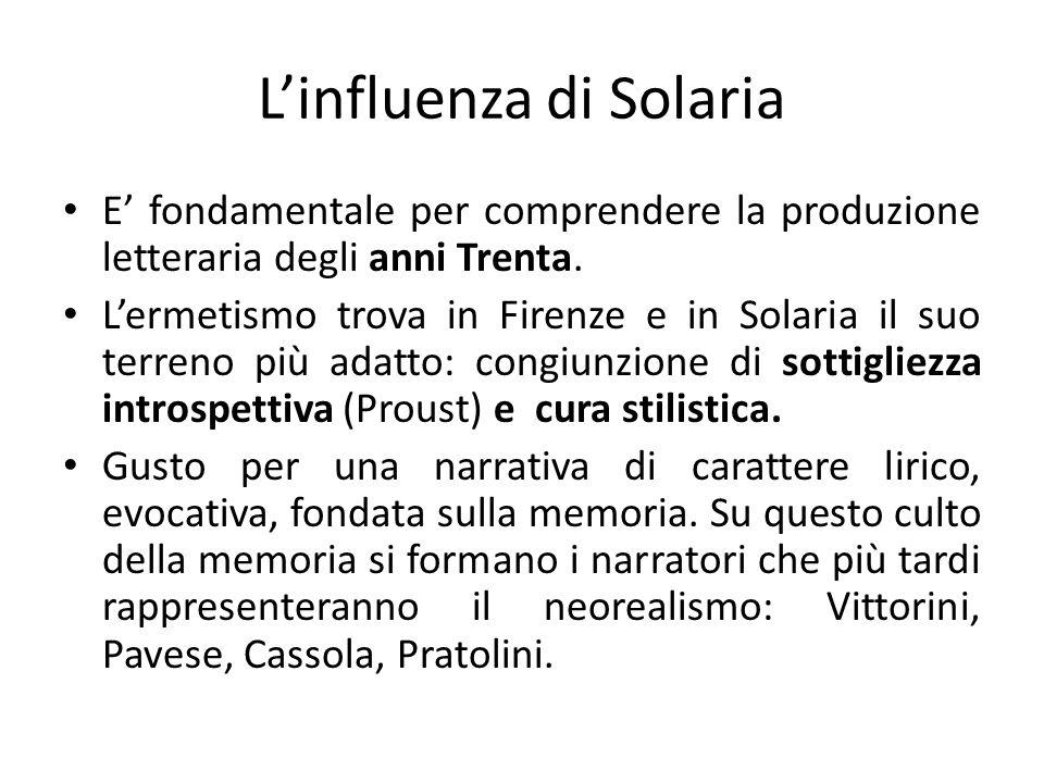 L'influenza di Solaria