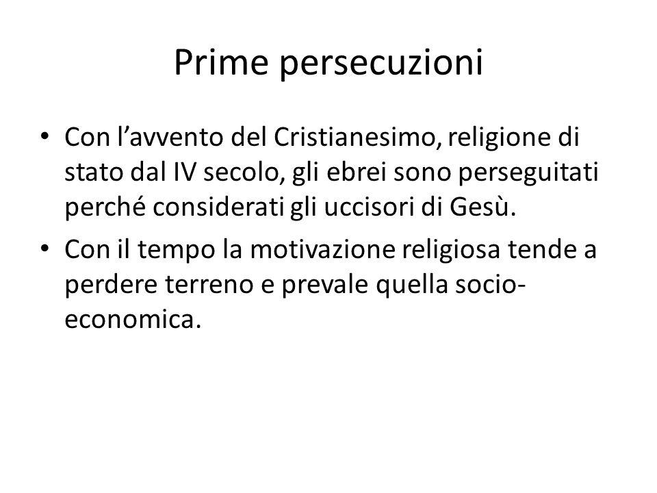 Prime persecuzioni
