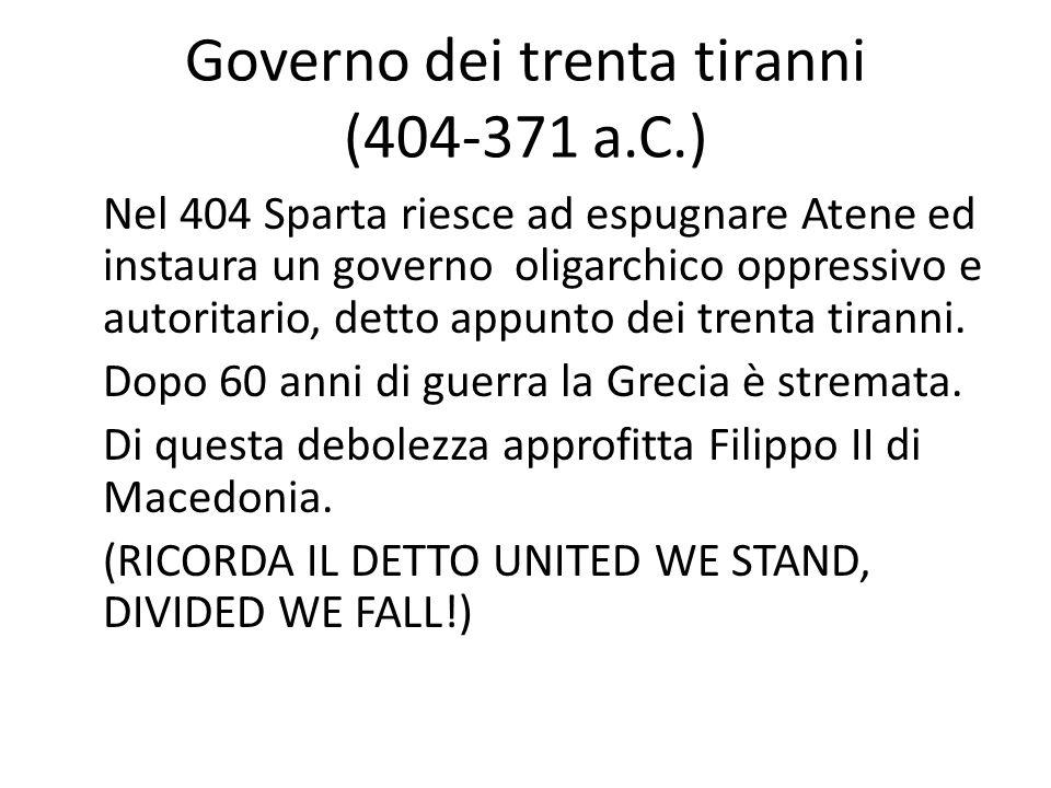 Governo dei trenta tiranni (404-371 a.C.)
