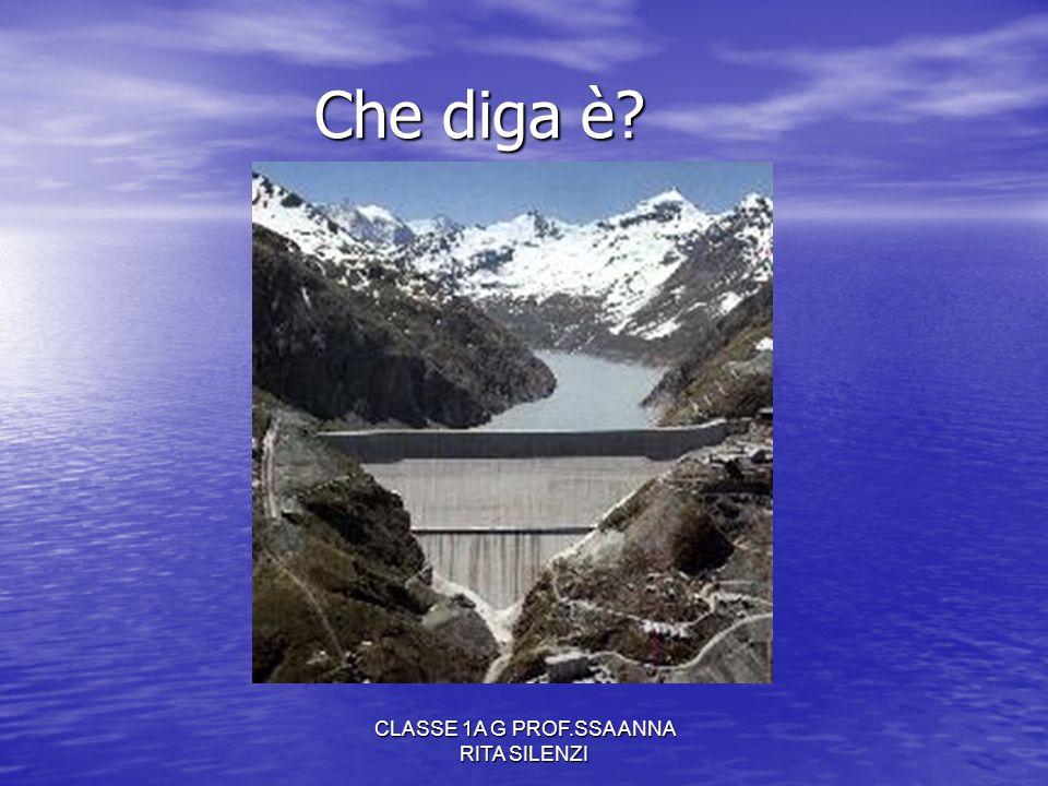 CLASSE 1A G PROF.SSA ANNA RITA SILENZI