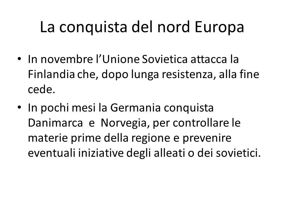 La conquista del nord Europa