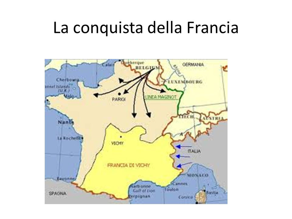 La conquista della Francia