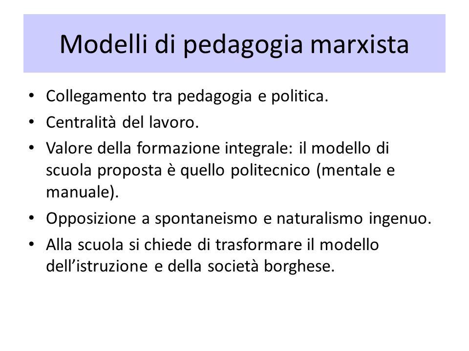 Modelli di pedagogia marxista