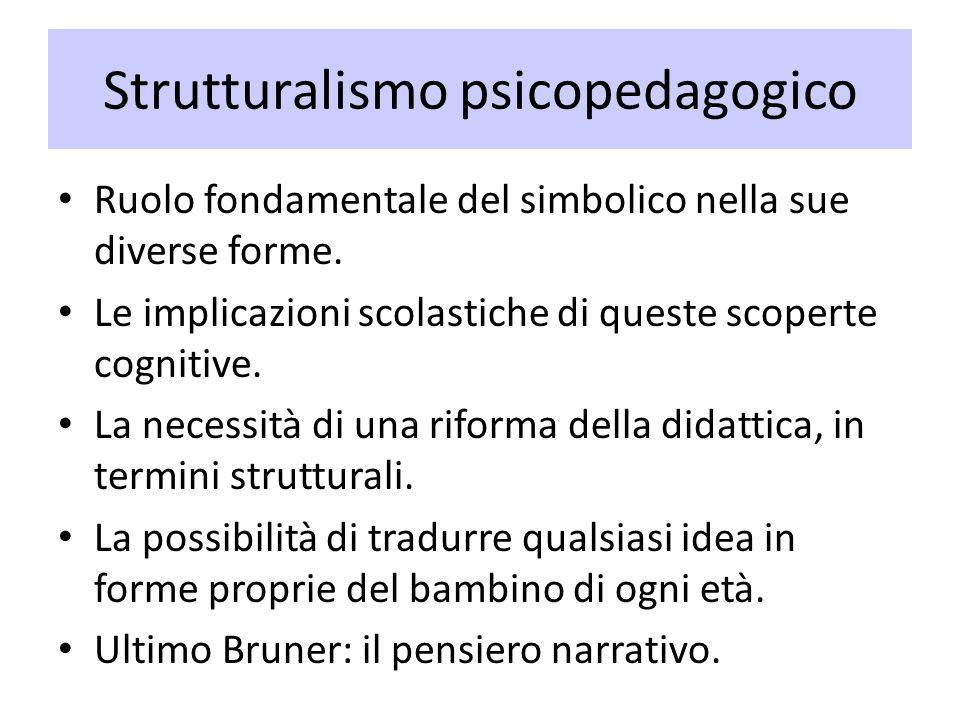 Strutturalismo psicopedagogico