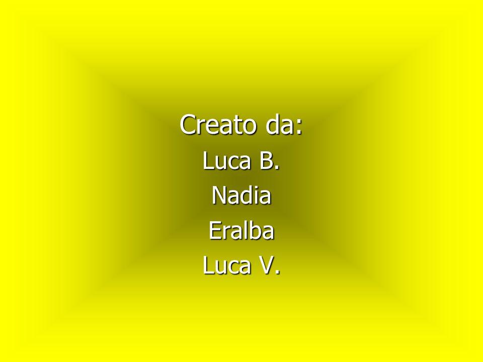 Creato da: Luca B. Nadia Eralba Luca V.