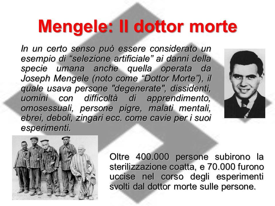 Mengele: Il dottor morte