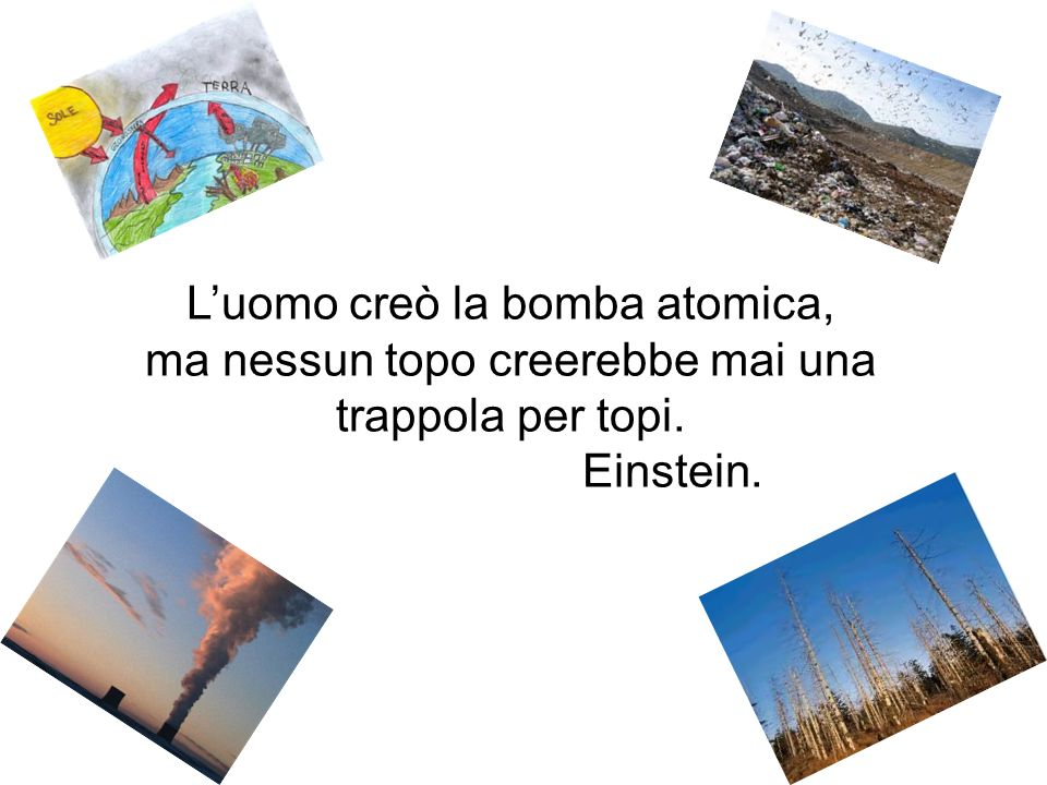 L'uomo creò la bomba atomica,
