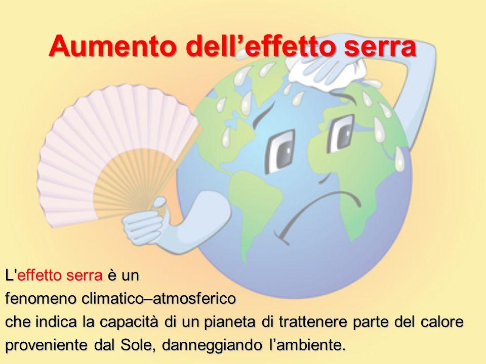 Aumento dell'effetto serra