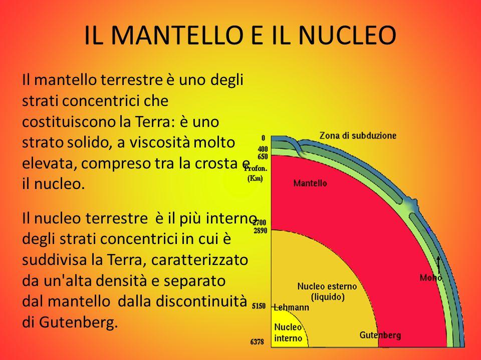 IL MANTELLO E IL NUCLEO
